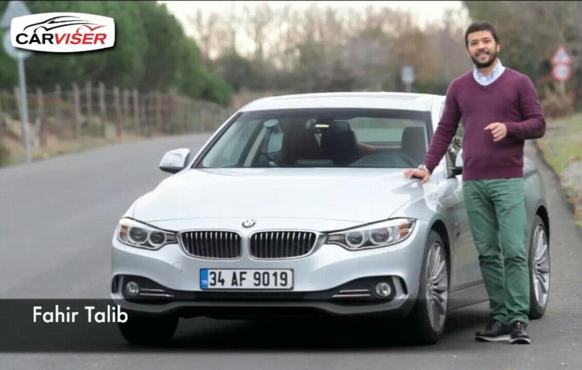 BMW 420d Test Sürüşü