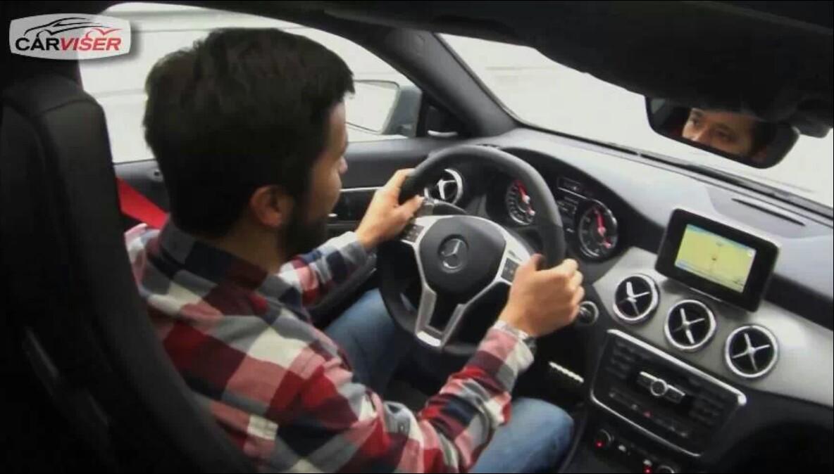 Mercedes CLA45 AMG Test Sürüşü