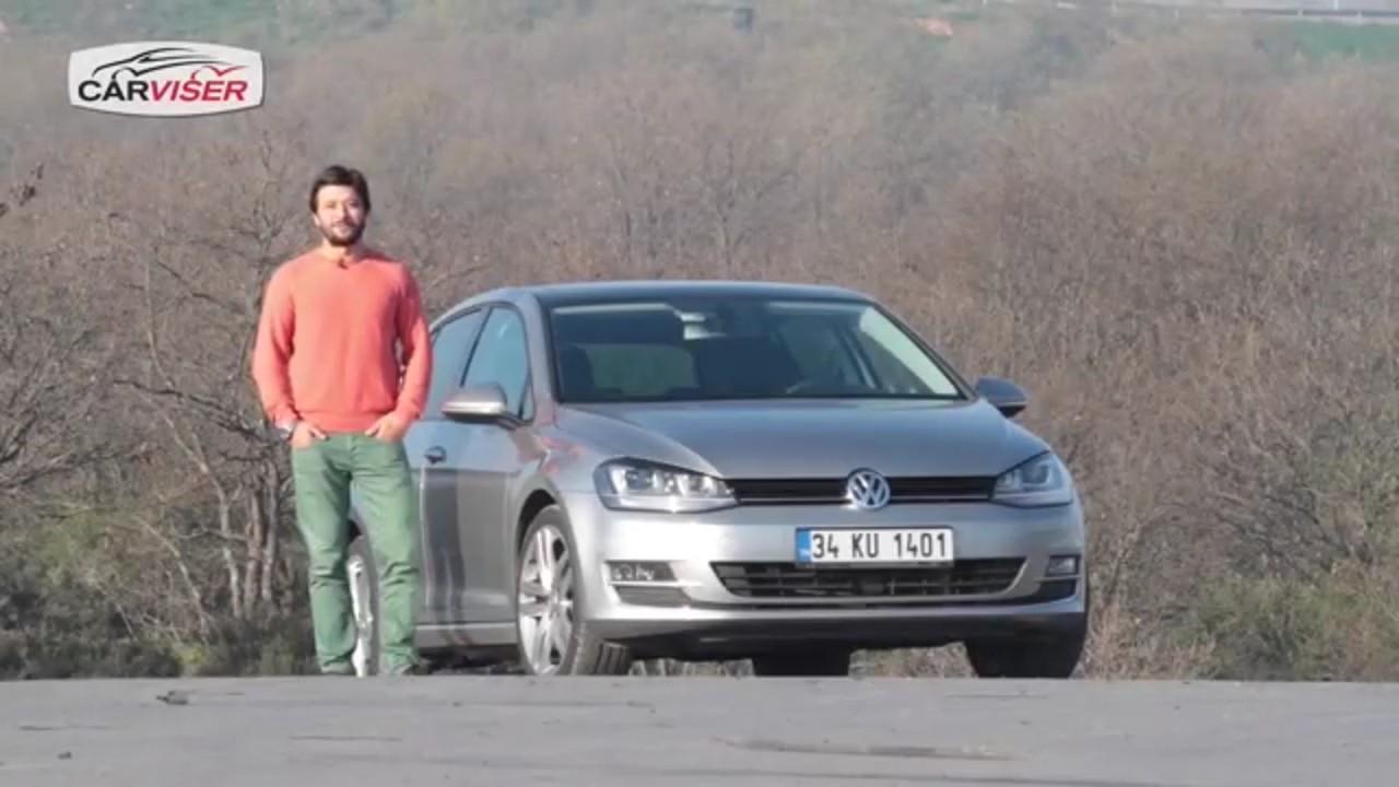 VW Golf 1.4 TSI ACT Test Sürüşü