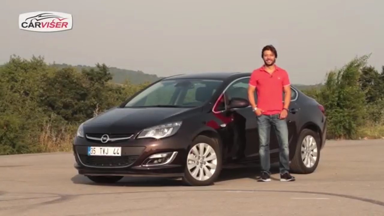 Opel Astra Sedan 1.6 CDTi Test Sürüşü