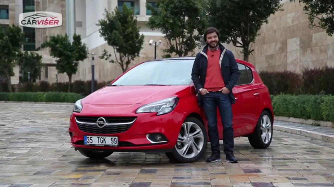 Opel Corsa 1.0 Turbo Test Sürüşü