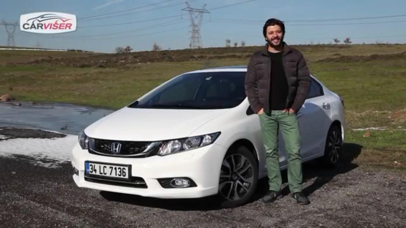 Honda Civic Sedan Test Sürüşü