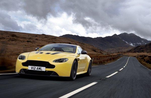 Aston Martin V12 Vantage S: En hızlı Vantage modeli