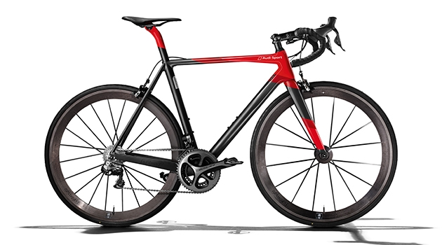 Audi felsefesiyle hayat bulan bisiklet!!!