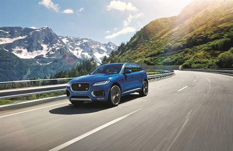 Jaguar'ın SUV Modeli F-Pace satışa sunuldu